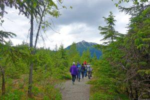 Alaska wandelpad